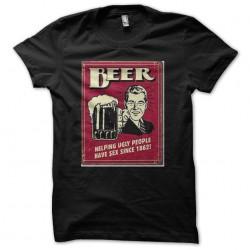 beer black sublimation tee...
