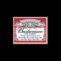 t-shirt bud king beer black sublimation