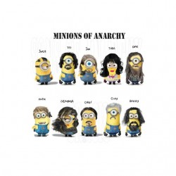 Minions of Anarchy white...