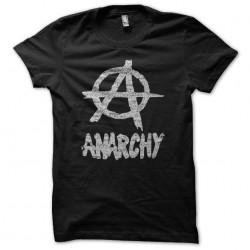 Tee Shirt Anarchy white on...