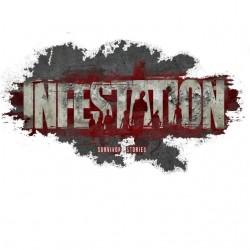 Tee Shirt infestation logo...