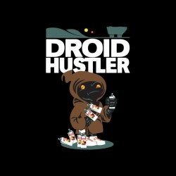 Tee shirt Droid Hustler sublimation