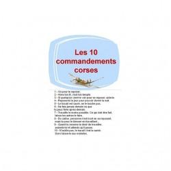 tee shirt commandements...