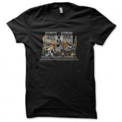 t-shirt trone reggae black sublimation