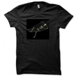 t-shirt skeleton hammock black sublimation