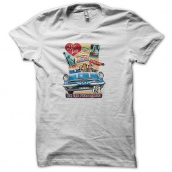 shirt on the road white sublimation