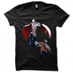 The Battle of the Planets black sublimation tee shirt