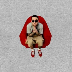 gray t-shirt mac miller...