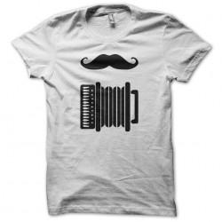 Tee shirt Accordéon Hipster...