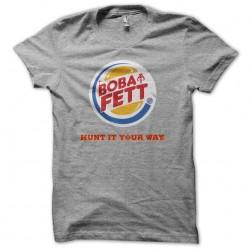 T-shirt Boba Fett parody...