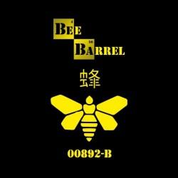 Breaking Bad Bee Barrel teeshirt black sublimation