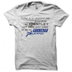 T-shirt Not in Bentley life...