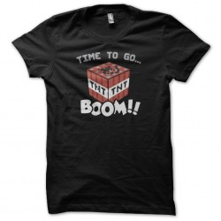 Tee shirt Time to go TNT...