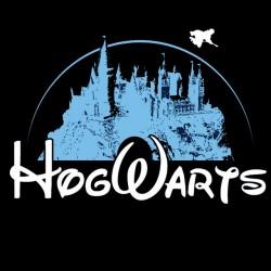 Hogwarts parody t-shirt black sublimation