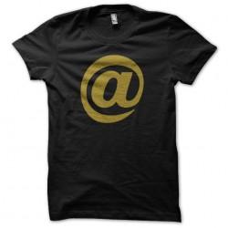 Tee Shirt Arobase black...