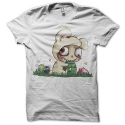 Tee Shirt teemo parody lol white sublimation