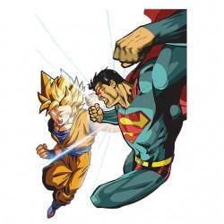 T-shirt sangoku vs superman...