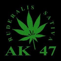 Tee Shirt AK 47 feuille de...