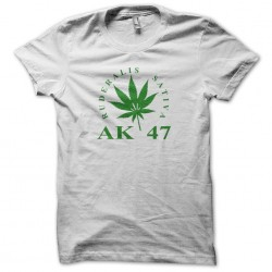 AK 47 Tee Shirt white...