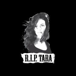 Sons of Anarchy t-shirt Tara RIP black sublimation