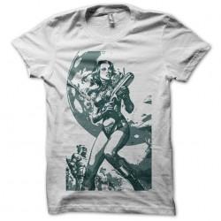 T-Shirt Barbarella white...