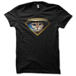 Tee shirt Super Astro Cat...