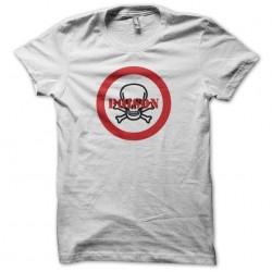 T-shirt Poison danger panel...