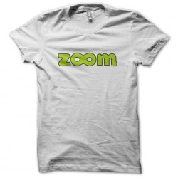 Tee Shirt Zoom white sublimation