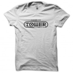 Tee Shirt Tower white sublimation