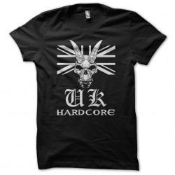 UK Hardcore Tee Shirt white...