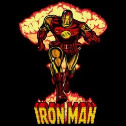 Iron Man Atomic shirt black sublimation