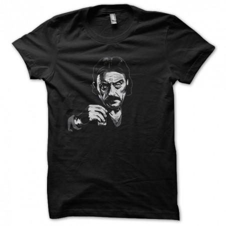 Ian McShane Deadwood black sublimation t-shirt