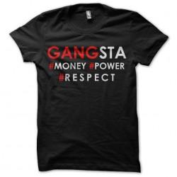 T-shirt gangsta money power...
