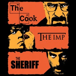 Tee shrt The Cook, The Imp, The Sheriff  sublimation
