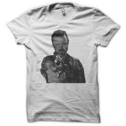 Jesse pinkman breaking bad t-shirt in white sublimation