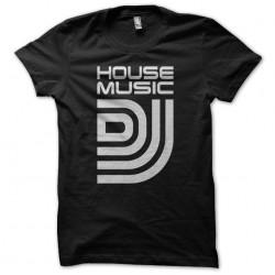 House Music DJ Tee Black...