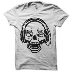 DJ White Skull Tee Shirt...