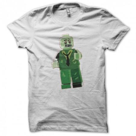 Zombie parody Lego white sublimation t-shirt