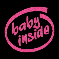 Tee Shirt Baby inside black...