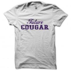 Future Cougar white sublimation t-shirt