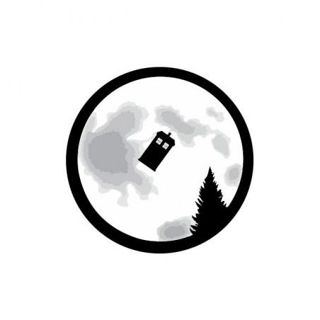 Tee shirt E.T. parodie cabine téléphonique  sublimation