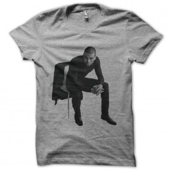 Chris brown sublimation gray t-shirt