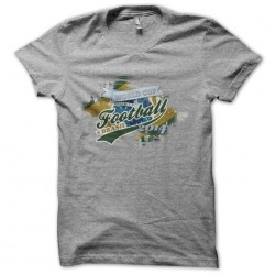 World Cup Brazil football t-shirt 2014 gray sublimation