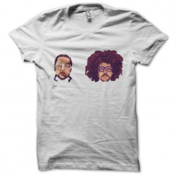 Lmfao facial t-shirt in white sublimation