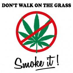 Tee shirt Don't Walk On The...