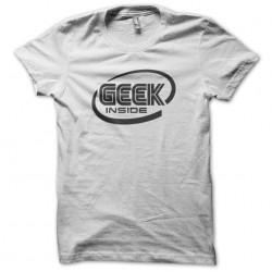 Tee Shirt Geek inside white...
