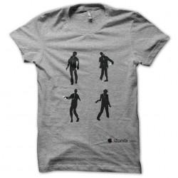 tee shirt izombi  sublimation