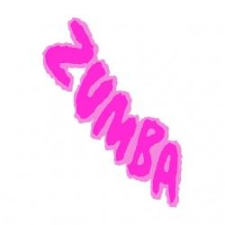 T-Shirt Zumba Pink white...