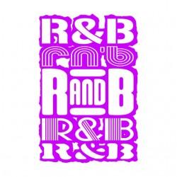 T-Shirt RnB Pink white...