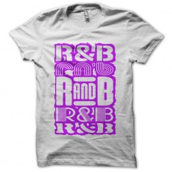 T-Shirt RnB Pink white sublimation